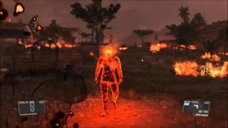 getlinkyoutube.com-「MGS5:TPP」燃える男に水鉄砲で対抗したところ・・・