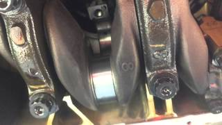 トヨタ サクシードのエンジン焼き付き修理