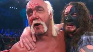 getlinkyoutube.com-Hulk Hogan/Abyss vs. AJ Styles/Ric Flair on March 8
