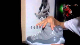 getlinkyoutube.com-Authentic Jordan Cool Grey 11s To Compare to Unauthorized Pairs