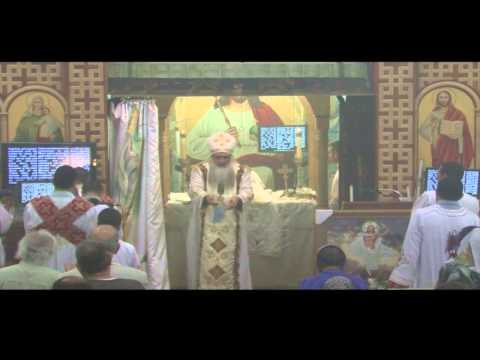 Sunday Liturgy  - Fr  David Bebawy 06-16-13