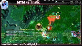 MYM vs Fnatic [5X NECRONOMICON STRATEGY]