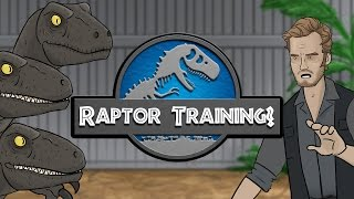 getlinkyoutube.com-Jurassic World - Raptor Training?