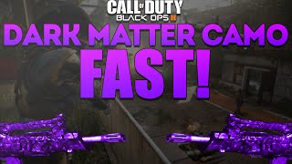 getlinkyoutube.com-How To GET DARK MATTER CAMO FAST! - Black Ops 3 How To UNLOCK ALL CAMOS (BO3 Dark Matter Camo)