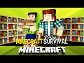 Minecraft Survival Ep.97 -  A Sala do Conhecimento !!