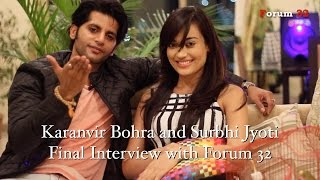 getlinkyoutube.com-Qubool Hai | Surbhi Jyoti Final Interview With Karanvir Bohra Zee Alwan