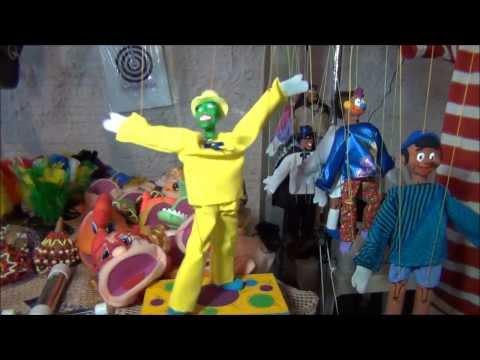 Bonito é Logo Ali. Marionetes e Fantoches - Brinquedos