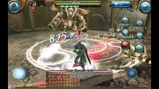 getlinkyoutube.com-Toram Online - Lvl 60 Golem(Pre Alpha, Final Boss)