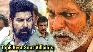 Top5 Best South Movies Villains, Jagapati Babu, Prakash Raj, Ravi Kishan, Sampath Raj,  Kabir Duhan
