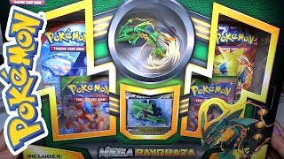 getlinkyoutube.com-Opening: MEGA Rayquaza Collection! Figure + Card Packs Set!