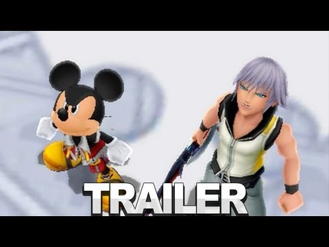 Kingdom Hearts 3D Trailer - Dream Drop Distance - E3 2012