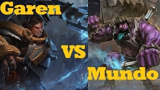 getlinkyoutube.com-Garen VS Dr. Mundo - League of Legends Live Commentary