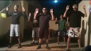 Very funny silent dance on bollywood songs.