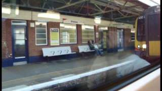 getlinkyoutube.com-Class 444 A Trip From Basingstoke To Waterloo Limted Stop Farnborough And Woking Only