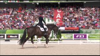 getlinkyoutube.com-JEM 2014 : Charlotte Dujardin vainqueur du grand prix de dressage freestyle