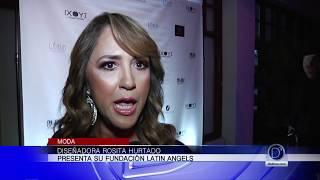 Rosita Hurtado, presentó su nuevo proyecto humanitario para el 2018