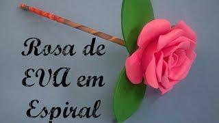 getlinkyoutube.com-Rosa de EVA em Espiral