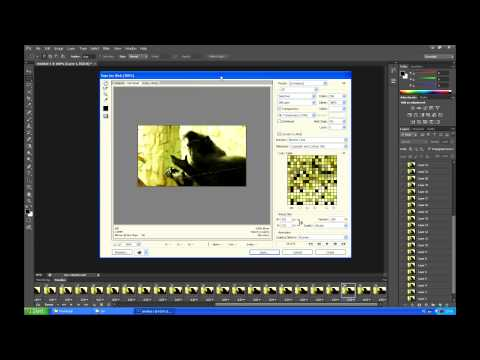 How to Make a GIF from Video - Photoshop CS6