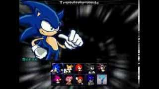 getlinkyoutube.com-M.U.G.E.N [BR] - Sonic The Fighters 2 Full