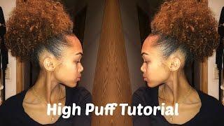 getlinkyoutube.com-High Puff On Natural Hair