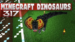 getlinkyoutube.com-Minecraft Dinosaurs! || 317 || Dilophosaur Attack!
