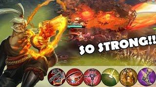 getlinkyoutube.com-Weapon Power Ringo is STRONGGG! | Vainglory [RANKED] Lane Gameplay