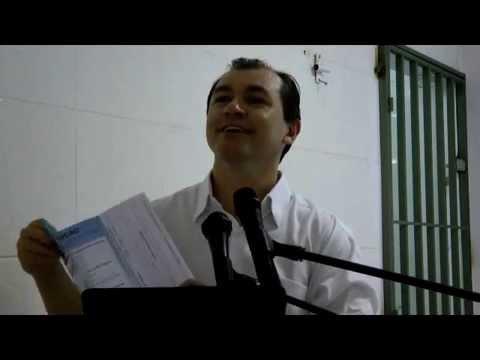 Nazareno Feitosa convida p/o 3º Congresso Espírita do DF 17-19/abril/15
