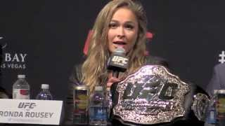 getlinkyoutube.com-Ronda Rousey: Floyd Mayweather Would Box the Hell Out of Me