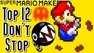 getlinkyoutube.com-Super Mario Maker Top 12 DON'T STOP Courses (Wii U)