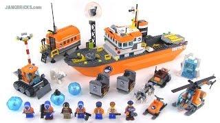 getlinkyoutube.com-LEGO City 60062 Arctic Icebreaker set review!