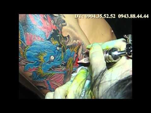 Cover up Tattoo Dragon by ART: Hung_KTS( Xăm nghệ thuật)