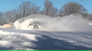 getlinkyoutube.com-4 wheeling in deep snow Compilation