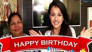 getlinkyoutube.com-Mahima Makwana celebrates 16th birthday with her Mom