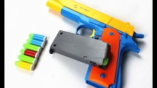 getlinkyoutube.com-Unboxing Pistola Colt m1911 de brinquedo (Aliexpress)