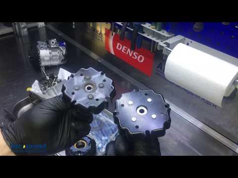 Porsche Cayenne - шум компрессора кондиционера. Замена поршневой.
