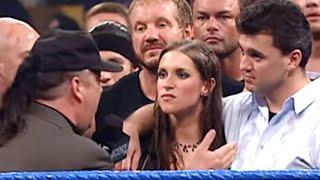 getlinkyoutube.com-SmackDown 7/19/01 - Part 1 of 8, Shane and Stephanie McMahon lead the WCW & ECW Stars