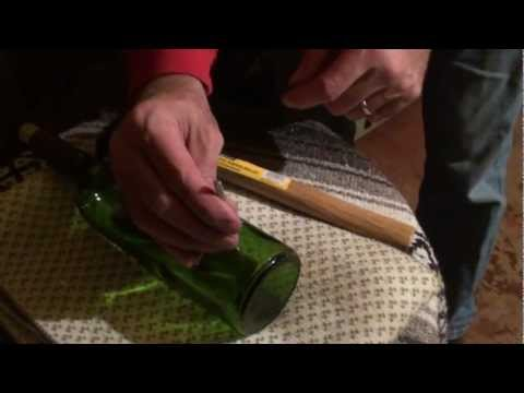 How to make Bottle Lights *DIY Wine Bottle Light*