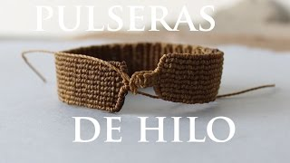 getlinkyoutube.com-tutorial pulseras de hilo friendships bracelets
