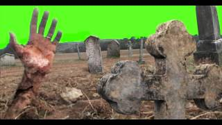 getlinkyoutube.com-Green screen graveyard tomb cemetery