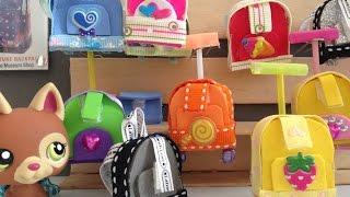 getlinkyoutube.com-LPS school backpack and trolley
