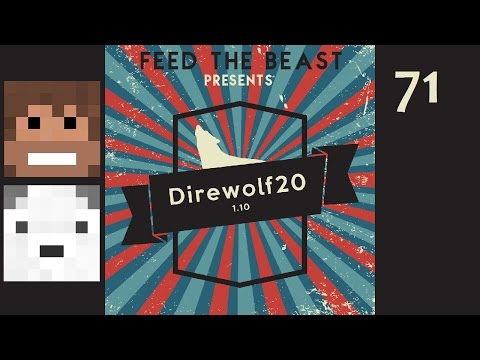 Direwolf20 1.10, Episode 71 -