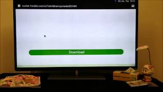 getlinkyoutube.com-How to install One Mobile Market into Toshiba Android TV 50L4300