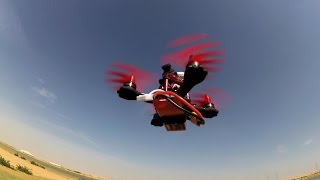 getlinkyoutube.com-Eachine Falcon 120 Tiny FPV Racer LOS Flight and FPV Freestyle