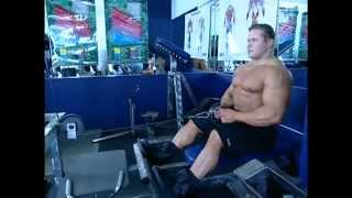 getlinkyoutube.com-Muscle & Fitness Training System - Back-legs
