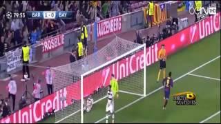 اهداف ميسي في بايرن ميونخ 3-0 بتعليق عصام الشوالي