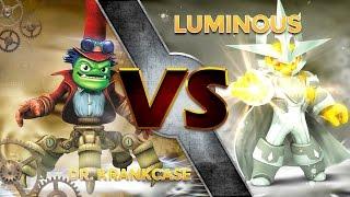 getlinkyoutube.com-Skylanders Trap Team - Dr. Krankcase VS Luminous