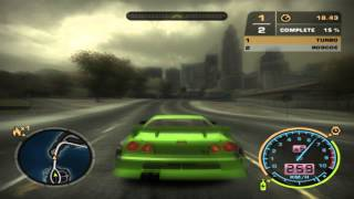 Nfs Most Wanted - Nissan Skyline R34 vs GTO [HD]