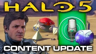 getlinkyoutube.com-Halo 5 News - Voices of War REQ Preview, Forge Teaser, Content Update Soon