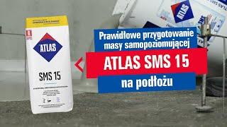 ATLAS - Samopoziomująca masa szpachlowa ATLAS SMS15