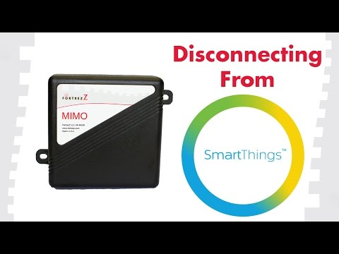 How to Exclude From SmartThings: FortrezZ MIMO2+